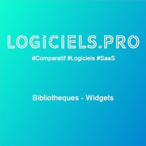Comparateur Bibliothèques - Widgets : Avis & Prix