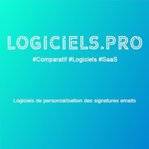 Comparateur logiciels de personnalisation des signatures emails : Avis & Prix