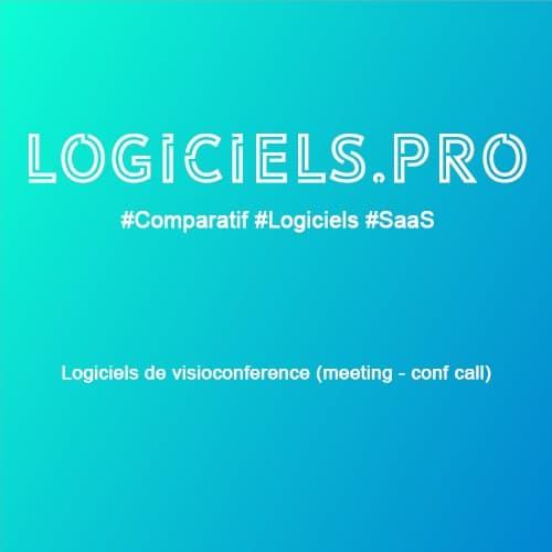 Comparateur logiciels de visioconférence (meeting - conf call) : Avis & Prix