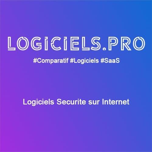 Comparateur logiciels Sécurité sur Internet : Avis & Prix