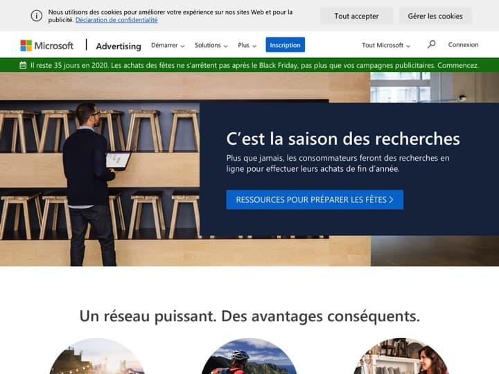 Meilleur ad Exchange - plateforme d'achat vente d'espaces publicitaires : Advertising Microsoft, Brightroll