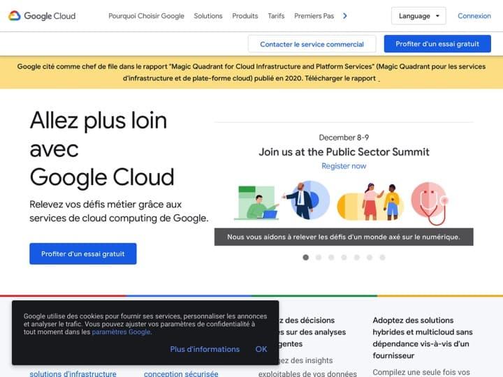 Meilleur ad Serving - serveur publicitaire : Cloud Google, Mopub
