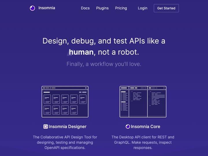 Meilleure API de données : Insomnia, Shields