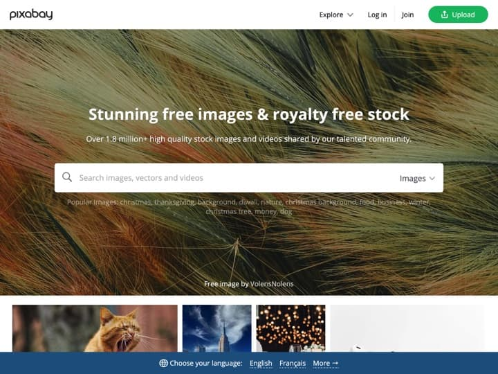 Meilleure banque d'Images : Pixabay, Pablo