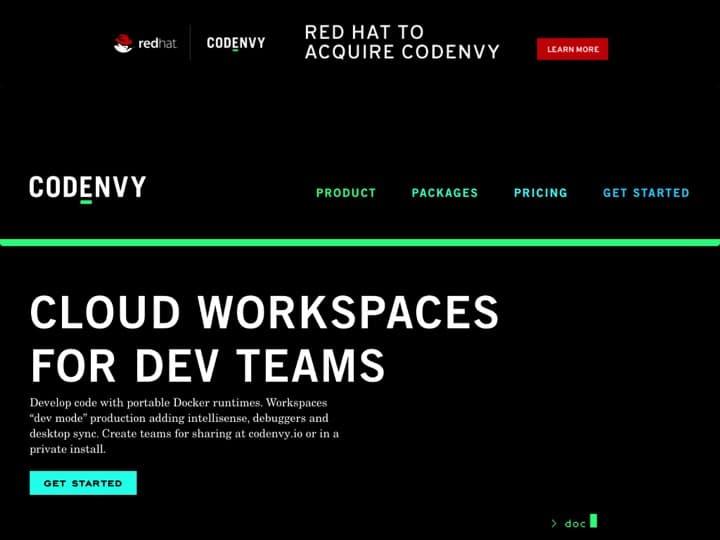 Meilleur Cloud IDE : Codenvy, Vagrantup