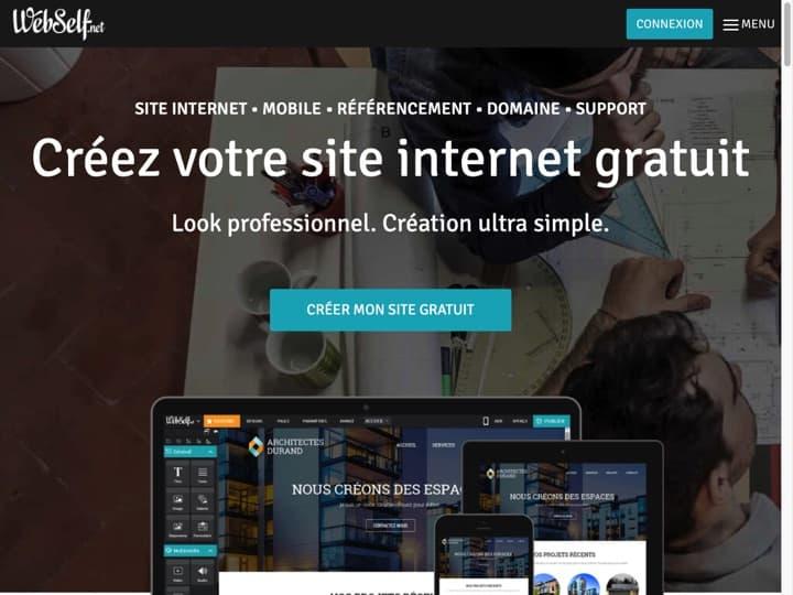Meilleur CMS - Création de Site Internet : Webself, Cmonsite