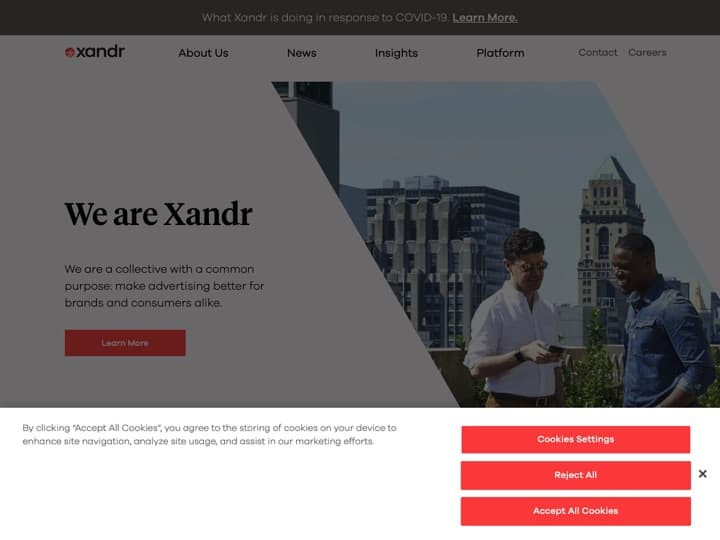 Meilleure infrastructure de la publicité en ligne : Appnexus, Adzerk