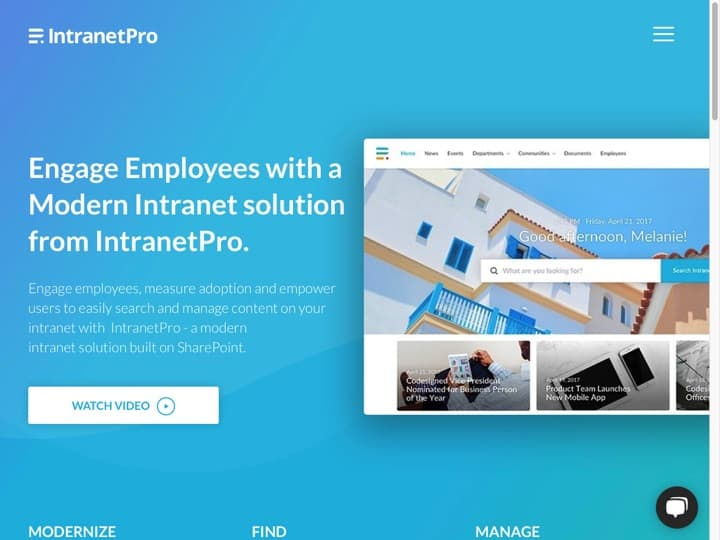 Meilleur intranet d'Entreprise : Intranetpro, Staffbase