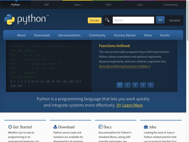 Meilleur Langage de programmation : Python, Apple