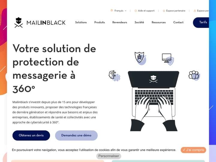 Meilleur logiciel antispam : Mailinblack, Secuserve