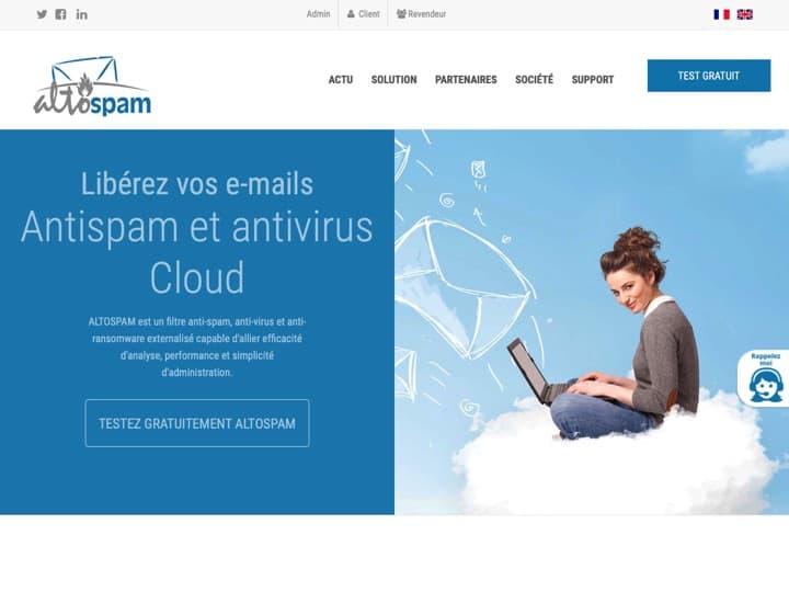 Meilleur logiciel antivirus : Altospam, Kaspersky