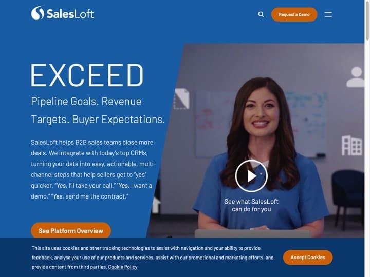 Meilleur logiciel d'analyse des ventes : Salesloft, Infusionsoft