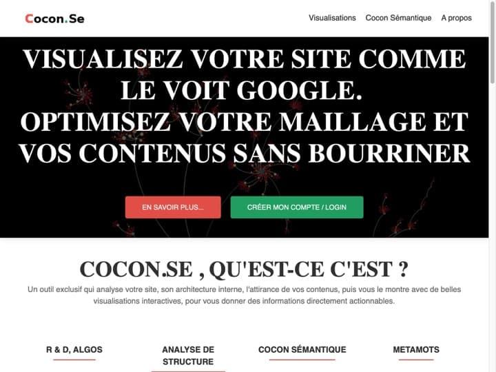 Meilleur logiciel d'analyse sémantique : Cocon Se, Visiblis