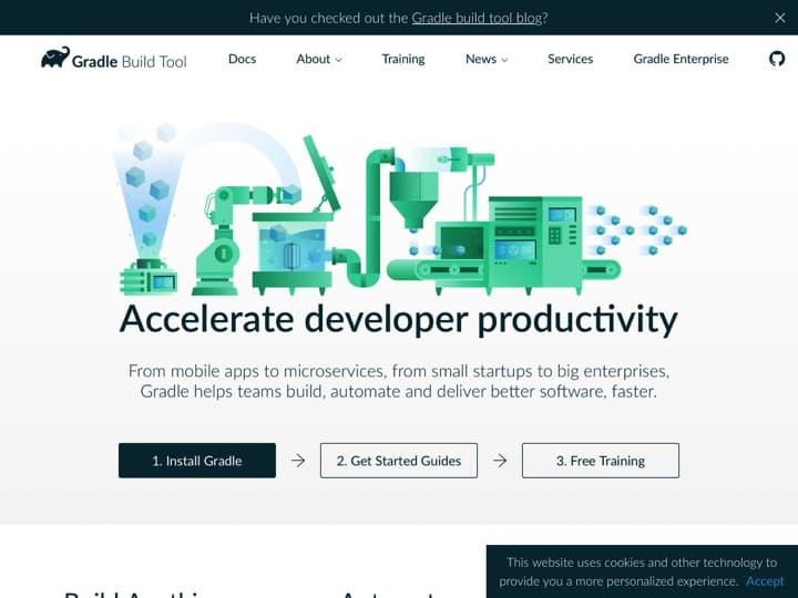Meilleur logiciel d'automatisation de conception et de déploiement : Gradle, Youzer