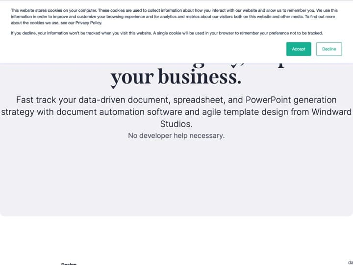 Meilleur logiciel d'automatisation du flux de documents : Windward, Enovapoint