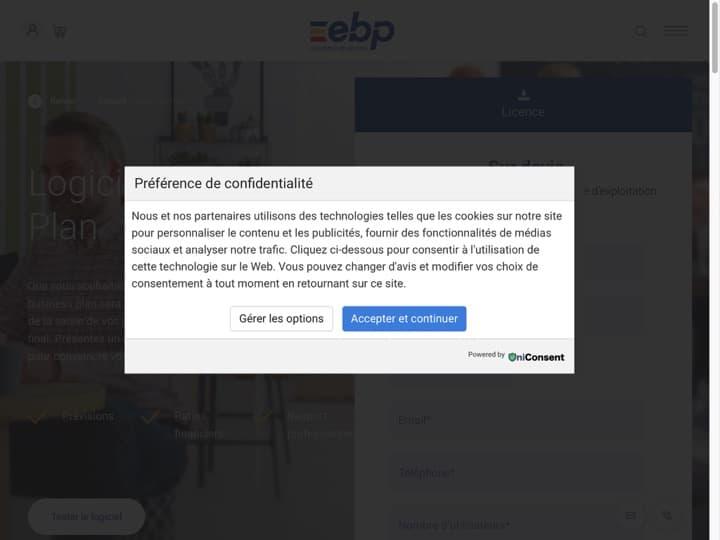 Meilleur logiciel de Business Plan : Ebp, Ebp