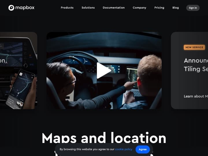 Meilleur logiciel de cartes - graphiques - diagrammes : Mapbox, Periscopedata