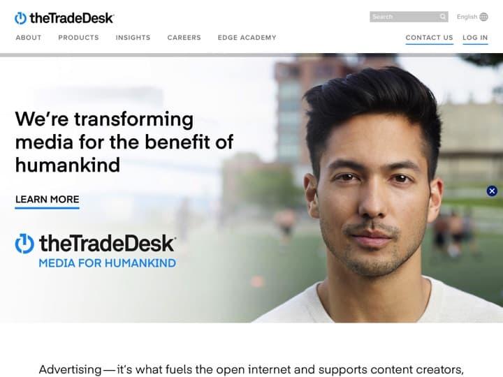 Meilleur logiciel de ciblage multi périphériques : Thetradedesk, Signal