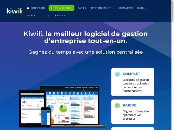 Meilleur logiciel de comptabilité et fiscalité : Kiwili, Agentpaie