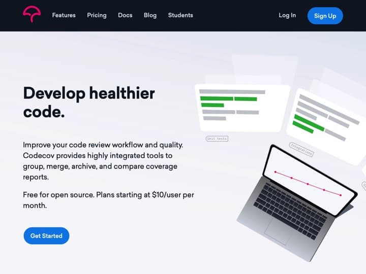 Meilleur logiciel de couverture de code : Codecov, Bitbucket