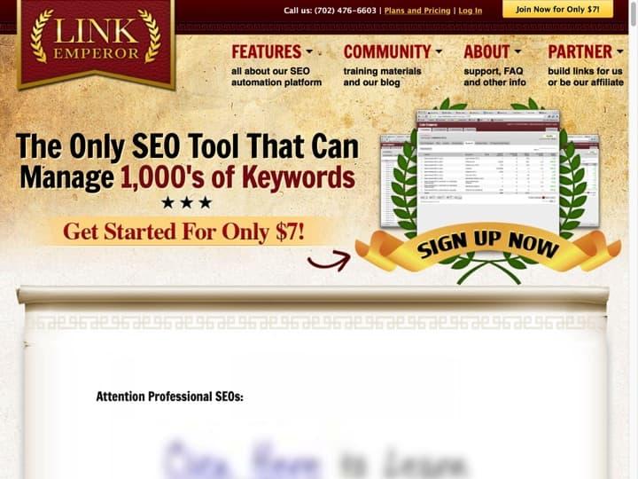 Meilleur logiciel de création de liens (Netlinking backlinks) : Linkemperor, Rankwyz