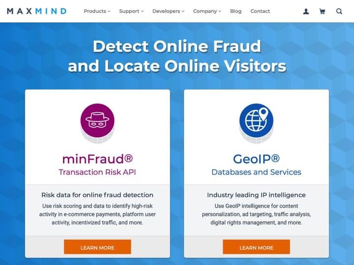 Meilleur logiciel de détection et prévention de la fraude : Maxmind, Symantec Fraude