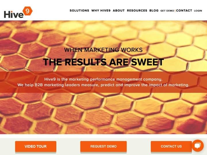 Meilleur logiciel de gestion de la performance marketing : Hive9, Allocadia