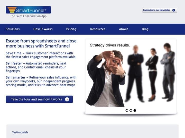 Meilleur logiciel de gestion de pipelines : Smartfunnel