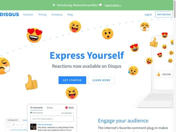 Meilleur logiciel de gestion des commentaires en ligne : Disqus, Livefyre