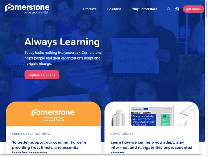 Meilleur logiciel de gestion des compétences (GPEC) : Cornerstoneondemand
