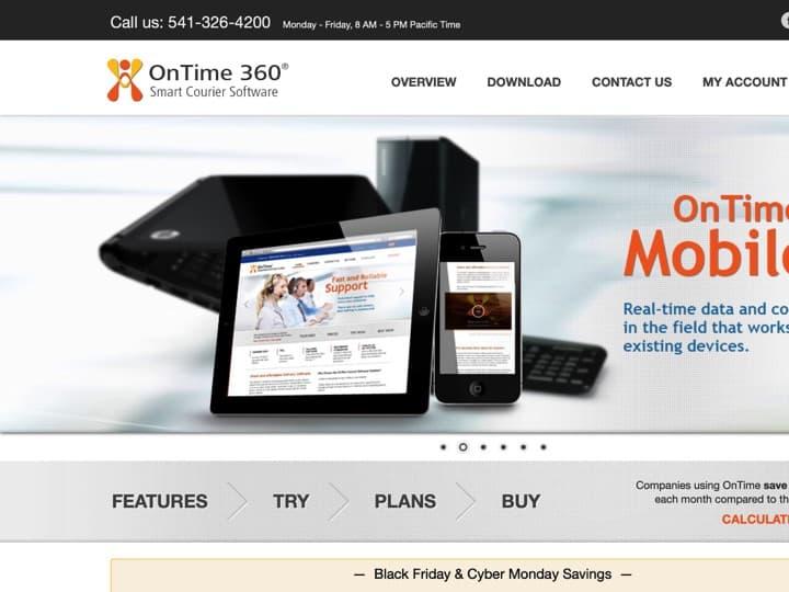 Meilleur logiciel de gestion des coursiers : Ontime360