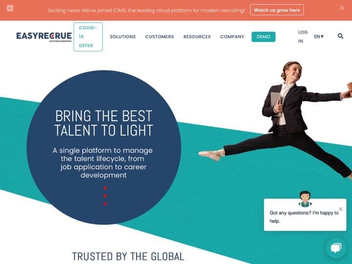 Meilleur logiciel de gestion des entretiens de recrutement par vidéo : Easyrecrue, Itwapp