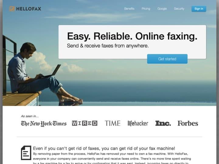 Meilleur logiciel de gestion des fax par internet (eFax) : Hellofax, Myfax