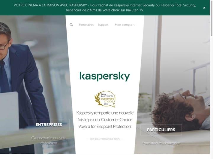 Meilleur logiciel de gestion des mots de passe : Kaspersky, Dashlane