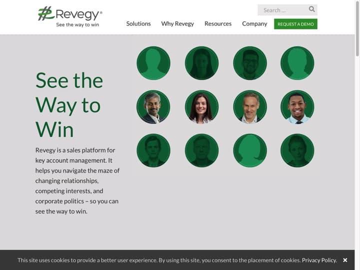Meilleur logiciel de gestion des opérations de vente : Revegy, Gameffective