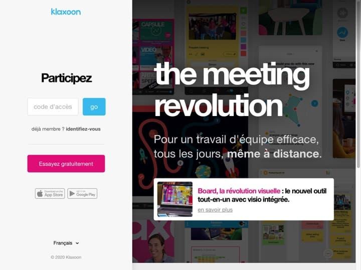 Meilleur logiciel de gestion des réunions : Klaxoon, Cvent