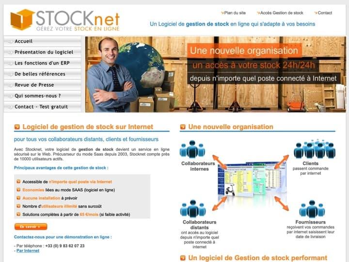 Meilleur logiciel de gestion des stocks - inventaires : E Stocknet, Sigma