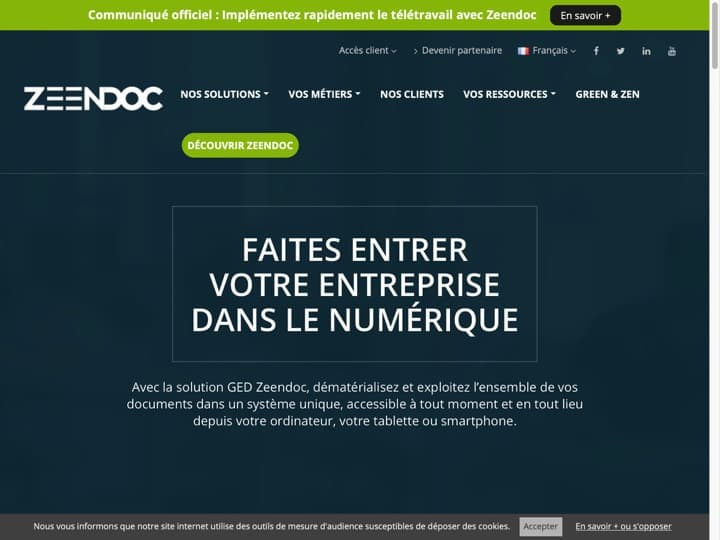 Meilleur logiciel de gestion documentaire (GED) : Zeendoc, Alfresco