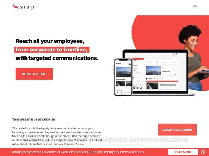 Meilleur logiciel de marketing de marque : Smarp, Rebrandly