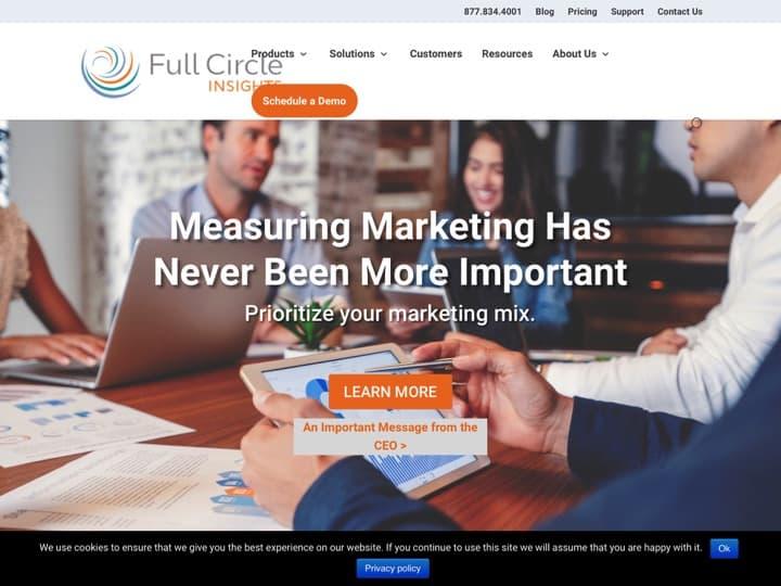 Meilleur logiciel de marketing des comptes stratégiques : Fullcircleinsights, Terminus