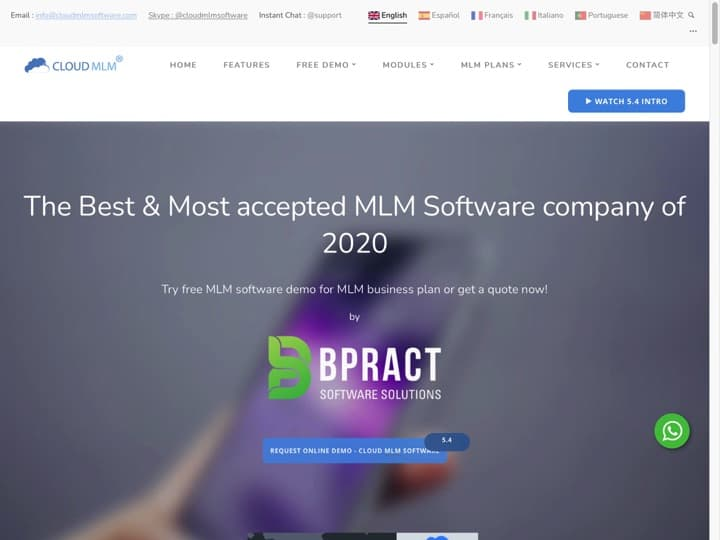 Meilleur logiciel de marketing relationnel : Cloudmlmsoftware, Marketeam