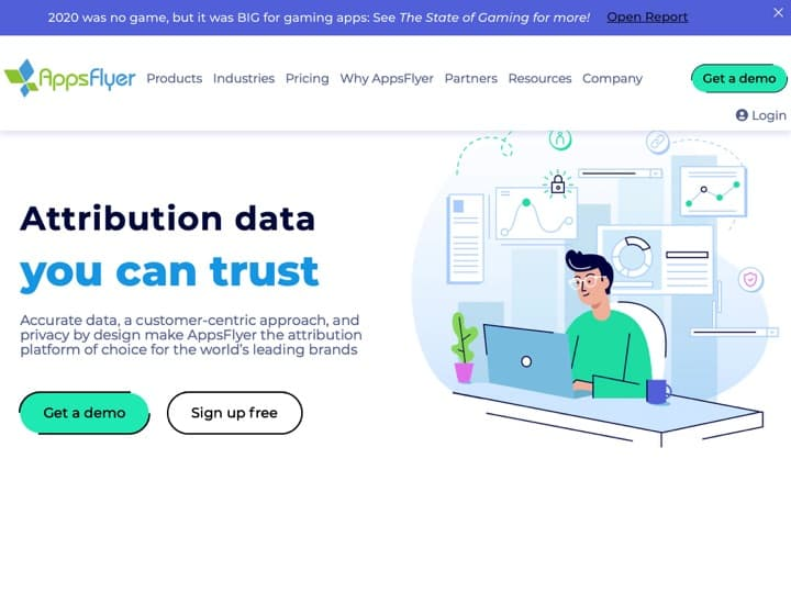 Meilleur logiciel de mobile analytics - statistiques mobiles : Appsflyer, Appannie