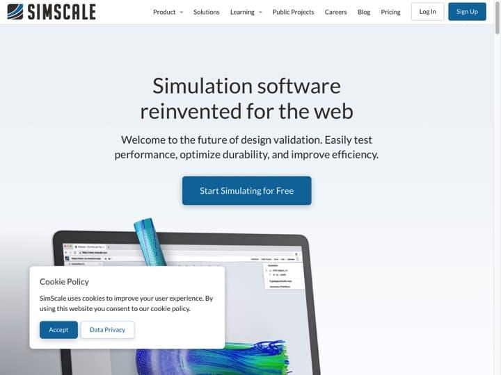 Meilleur logiciel de modélisation et simulation : Simscale