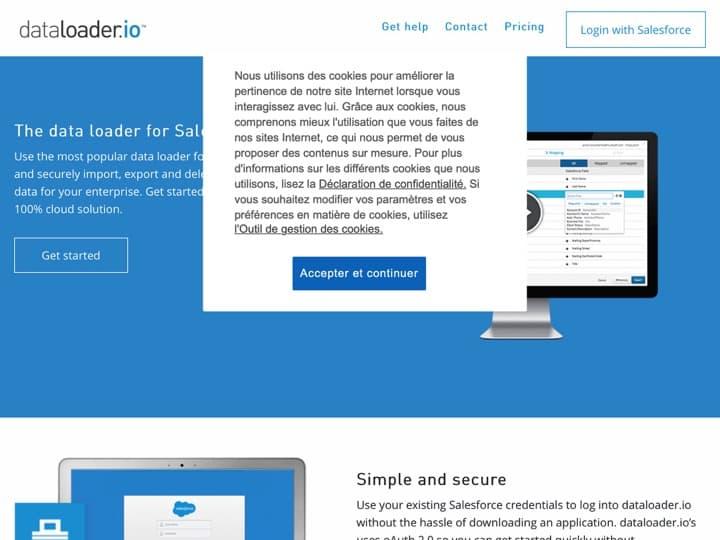 Meilleur logiciel de nettoyage des données : Dataloader, Coheris