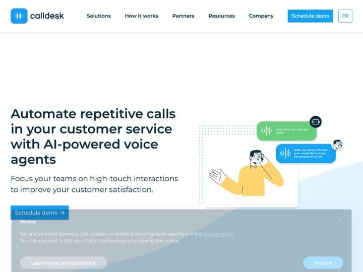 Meilleur logiciel de numérotation automatique : Calldesk, I Nexus