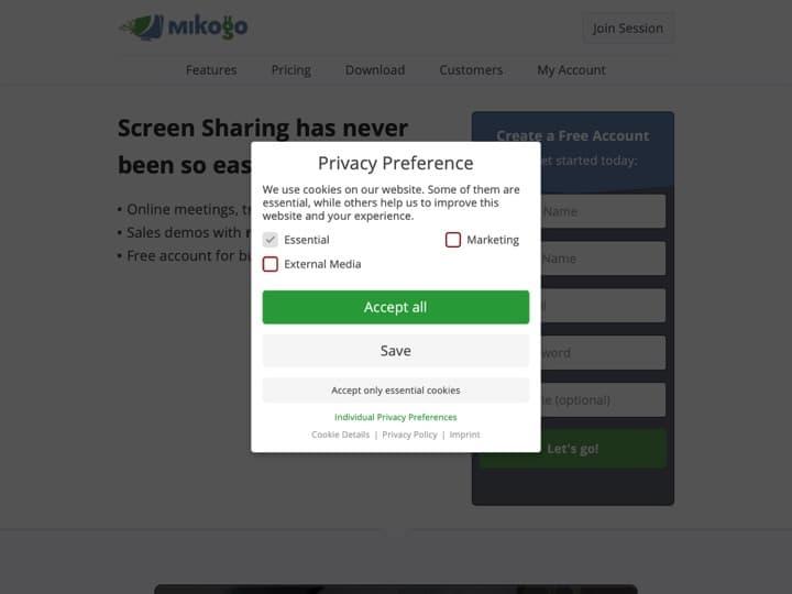 Meilleur logiciel de partage d'écran : Mikogo, Moxtra