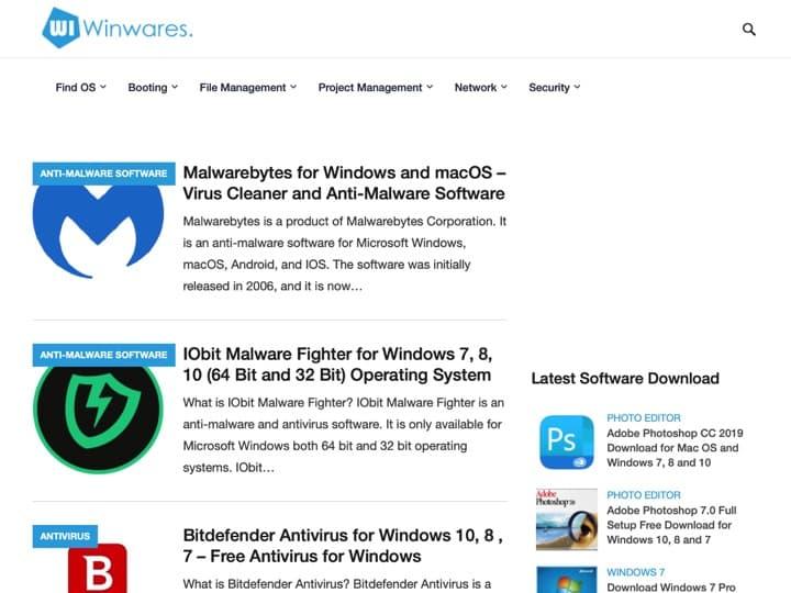 Meilleur logiciel de passerelle de paiement : Winwares