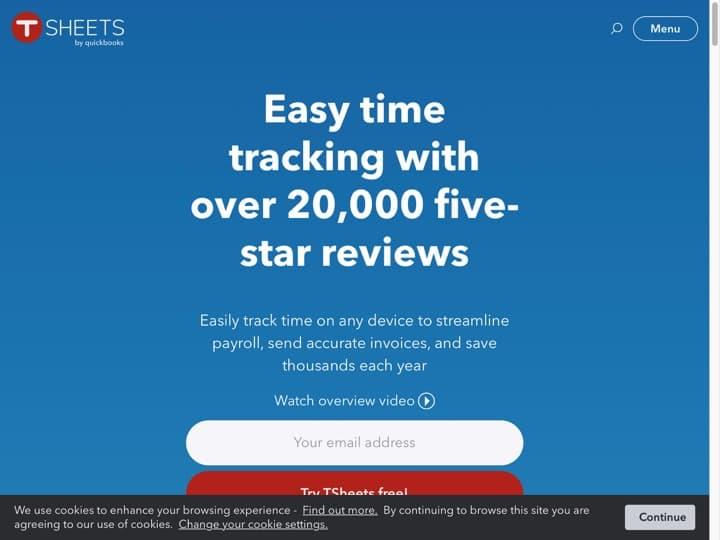 Meilleur logiciel de planification des ressources : Tsheets, Humanity
