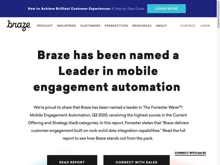 Meilleur logiciel de rétention marketing : Appboy, Futurelytics