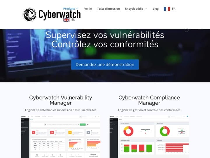 Meilleur logiciel de sécurité informatique entreprise : Cyberwatch, Reveelium
